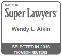 Wendy Aikin Super Lawyer 2016